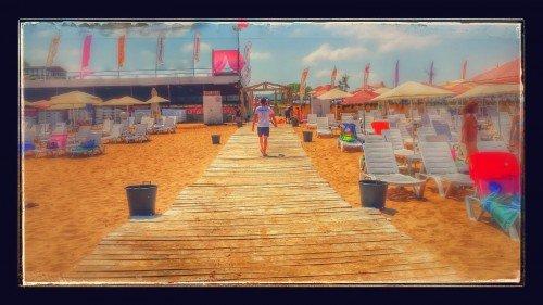 """Tırmata """"Beach""""ten"""