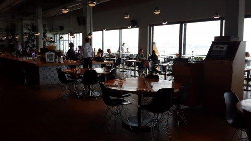 İstanbul Modern ve restoran bölümü