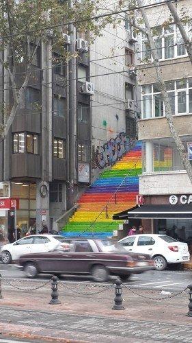 Gökkuşağı merdiveni