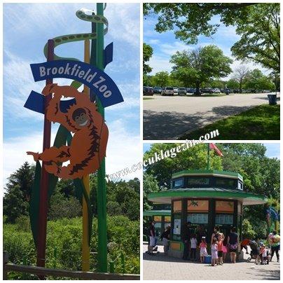 Hayvanat Bahçesi girişi- bilet ve park yerleri