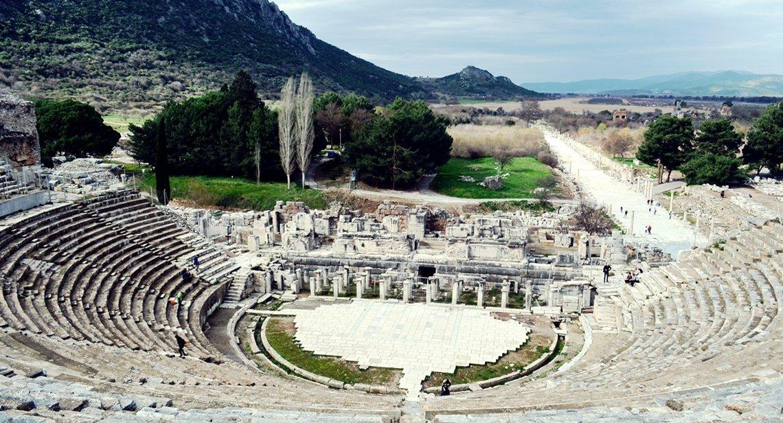 Efes Antik Kenti çocukla Gezin