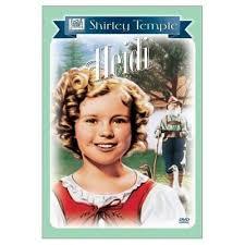Ünlü çocuk yıldızı Shirley Temple'ın da oynadığı Heidi filminin afişi