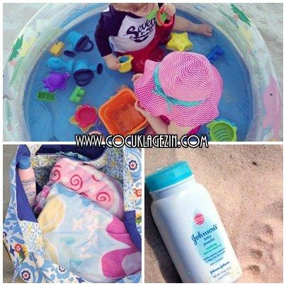 Plajda çocuklar için alınabilecek bazı malzemeler