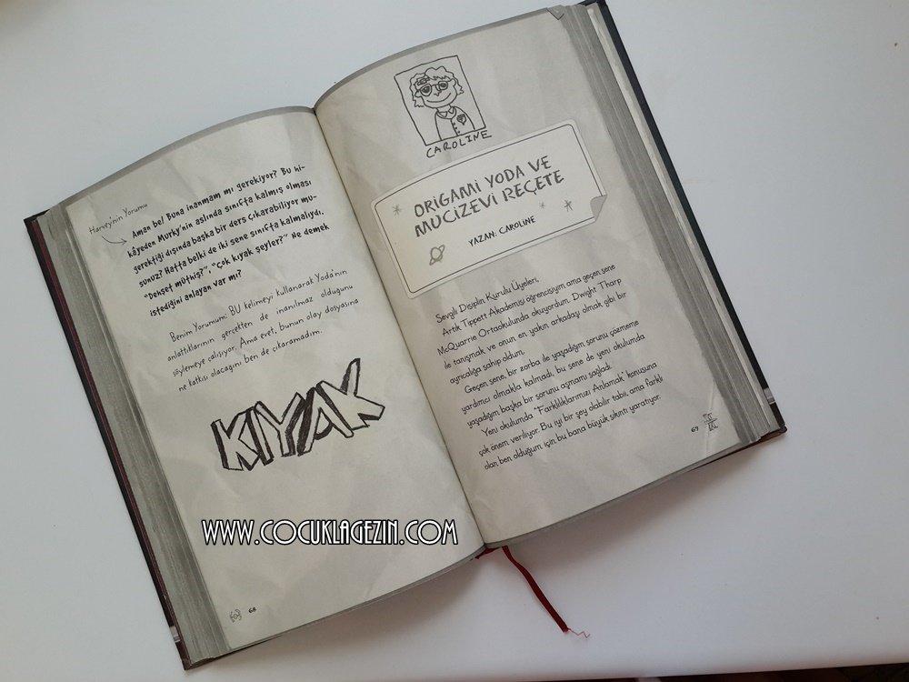 Esprili bir dil ve karikatürsel anlatımla hazırlanmış kitaptan bir bölüm