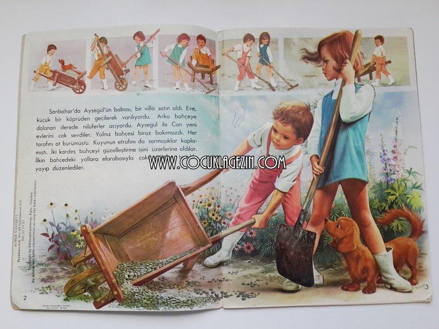 Ayşegül Güzel Bahçe'de kardeşi Can'la beraber çalışıyor.
